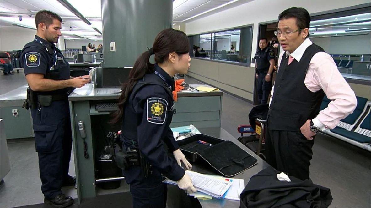 Grensbeveiliging van Canada