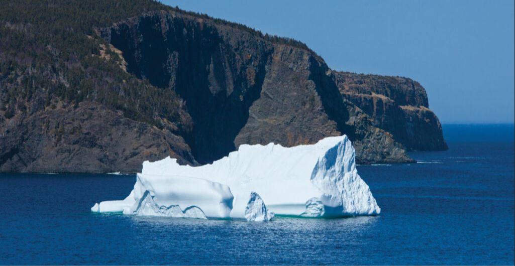 IJsberg spotten
